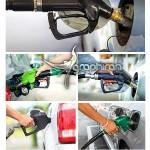 دانلود تصاویر استوک ماشین در حال سوخت گیری در پمپ بنزین