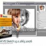 دانلود AKVIS Sketch 18.0.3039 بهترین پلاگین فتوشاپ تبدیل عکس به نقاشی