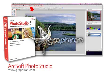 نرم افزار ArcSoft PhotoStudio