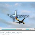 دانلود ویدئو استوک هواپیما در حال فرود Plane Landing Stock Video
