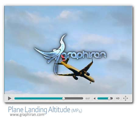 ویدئو استوک هواپیما در حال پرواز