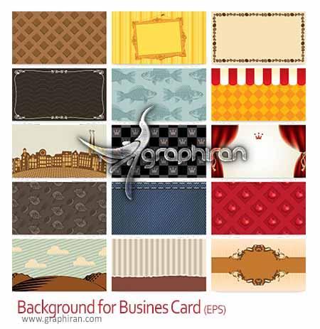بک گراندهای طراحی کارت ویزیت