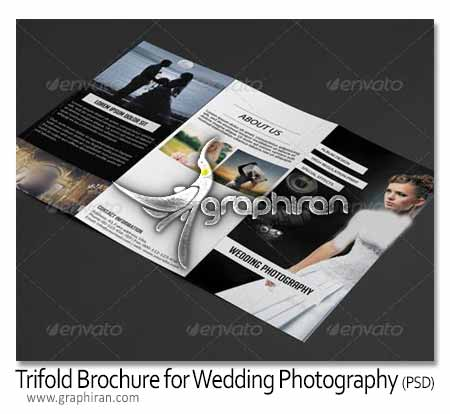 بروشور عکاس عروسی