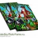 دانلود فون لایه باز عکس کودک جدید و حرفه ای با فریم دزد دریایی