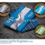 دانلود کارت ویزیت مهندس الکترونیک فرمت PSD لایه باز – شماره ۱۶۸