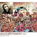 دانلود اکشن فتوشاپ تبدیل عکس به نقاشی گرافیتی خیابانی