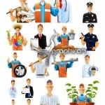 Different Professions 25 Vector 150x150 دانلود مجموعه لوگوی وکتور تعمیرگاه اتومبیل محصول Fotolia