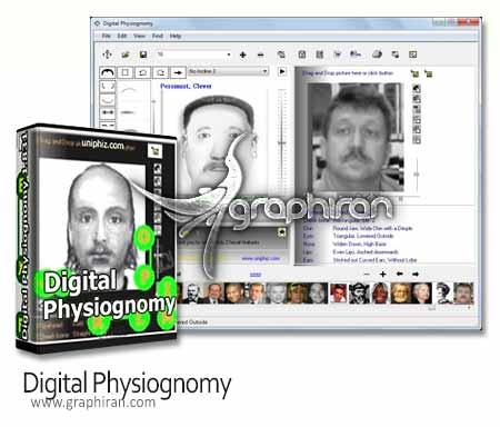 نرم افزار چهره نگاری Digital Physiognomy