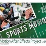 دانلود پروژه افتر افکت تیزر صحنه های اکشن ورزشی با کیفیت HD