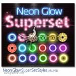 neon glow style 150x150 دانلود رایگان فونت انگلیسی زیبا و جذاب نئون Neon Font