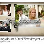 دانلود پروژه جدید افتر افکت آلبوم عکس و فیلم عروسی