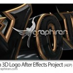 دانلود پروژه جدید افتر افکت نمایش زیبای لوگو به صورت سه بعدی