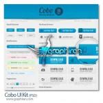 دانلود عناصر گرافیکی ساده و لایه باز برای طراحی وب سایت