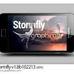 دانلود والپیپر زنده اندروید نمایش وضعیت آب و هوا Stormfly v1.8b