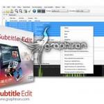 دانلود نرم افزار ساخت و ویرایش زیرنویس فیلم Subtitle Edit v3.5.16