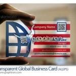 دانلود طرح لایه باز کارت ویزیت شیشه ای ترنسپرنت – شماره ۱۷۳