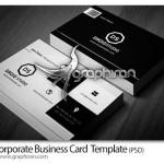 دانلود قالب لایه باز کارت ویزیت تجاری و اداری شیک – شماره ۱۷۱