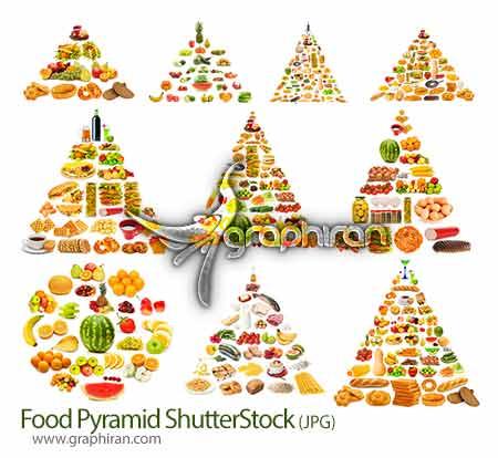 عکس هرم غذایی و گروه های غذایی
