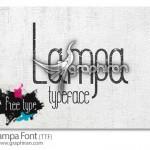 دانلود فونت انگلیسی گرافیکی و حرفه ای Lampa