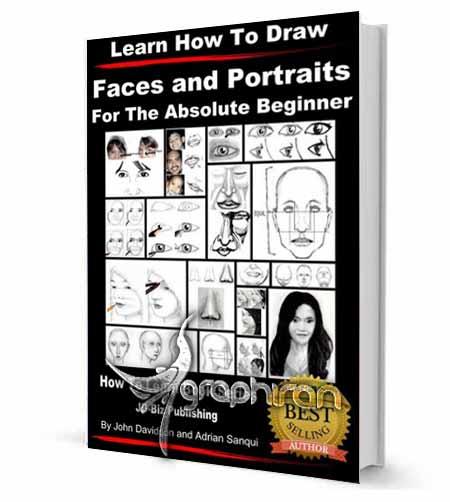 کتاب آموزش طراحی صورت و پرتره