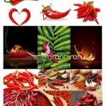 دانلود تصاویر استوک فلفل قرمز تند و آتشین محصول Fotolia