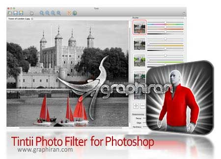 Tintii Photo Filter for Adobe Photoshop