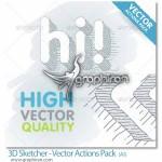 3D Sketcher Vector Actions Pack 150x150 دانلود اکشن فتوشاپ ساخت افکت شعله های آتش طراحی شده با دست