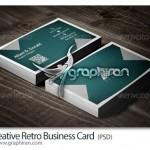 دانلود رایگان طرح لایه باز کارت ویزیت سبک قدیمی – شماره ۱۷۶