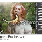 دانلود براش فتوشاپ طراحی محیط Environment Photoshop Brush