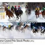 دانلود تصاویر استوک مسابقات اسب سواری Horse Grand Prix