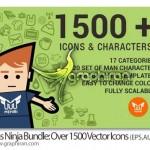 دانلود مجموعه بیش از ۱۵۰۰ آیکون گرافیکی وکتور با موضوعات مختلف