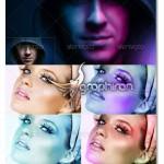 دانلود اکشن های زیبای فتوشاپ برای نورپردازی هنری LYT Actions