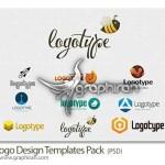 دانلود مجموعه لوگوهای تجاری آماده با فرمت PSD لایه باز