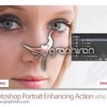 دانلود اکشن فتوشاپ قدرتمند برای روتوش و زیباسازی عکس های پرتره