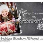 دانلود پروژه افتر افکت اسلایدشو عکس با تم تعطیلات زمستانی