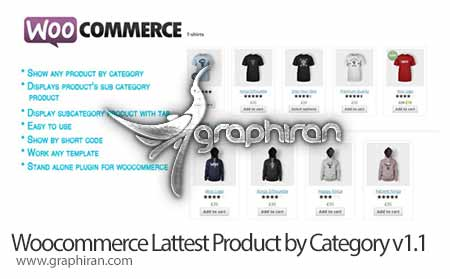 Woocommerce Latest Product by Category