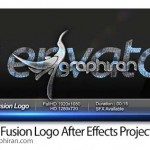 پروژه افتر افکت نمایش لوگو با ادغام حروف Words Fusion Logo
