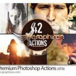 دانلود ۴۲ اکشن جدید فتوشاپ ایجاد افکت های رنگی زیبا روی عکس