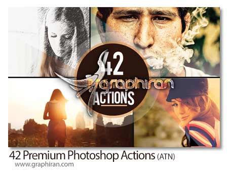 اکشن فتوشاپ ساخت افکت های عکاسی