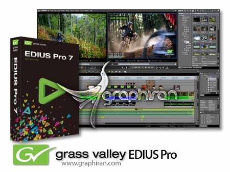 edius pro دانلود Grass Valley EDIUS Pro 7.41 Build 28 میکس و مونتاژ فیلم