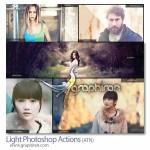 دانلود اکشن های فتوشاپ ساخت افکت های نوری عکاسی و واقع گرایانه