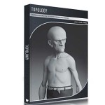 کتاب آموزش توپولوژی کاراکتر در تری دی مکس Topology in 3ds Max
