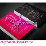 Beauty Salon Business Card 150x150 دانلود مجموعه لوگوهای وکتور آرایشگاه زنانه و سالن زیبایی