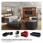 دانلود Evermotion Archmodels Vol.16 شامل ۱۴۰ مدل مبلمان مدرن