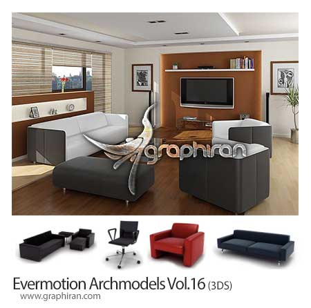 دانلود Evermotion Archmodels Vol.16