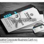 دانلود کارت ویزیت تجاری ساده فرمت PSD لایه باز – شماره ۱۸۳