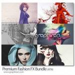 دانلود ۱۸ اکشن فتوشاپ افکت های رنگی فشن Premium Fashion Actions