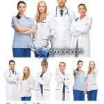 دانلود تصاویر استوک دکتر مرد و زن Doctors Stock Photo