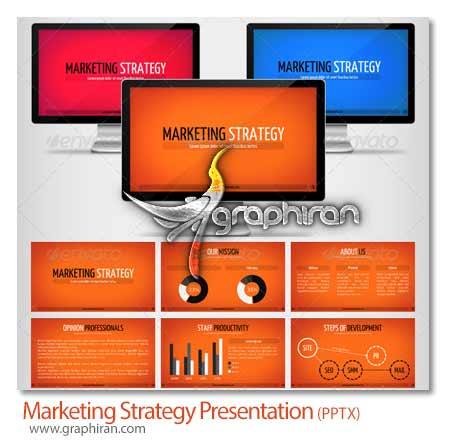 پاورپوینت استراتژی بازاریابی
