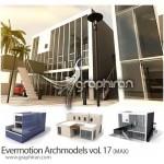 دانلود Evermotion Archmodels Vol. 17 شامل ۳۰ مدل خانه تری دی مکس
